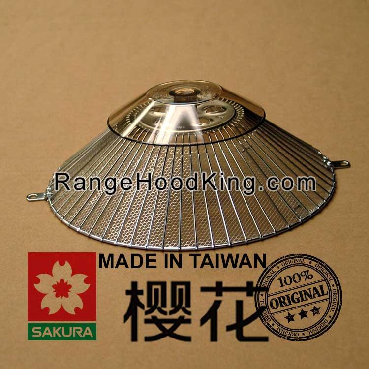 Sakura R 727 R727range Hood Filter Conversion Modification Kit