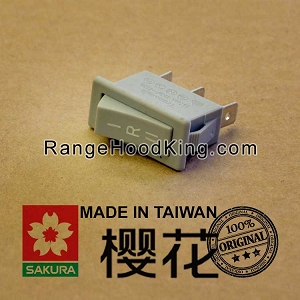 Sakura R-747R-767 R-727 Motor Switch Grey Right side