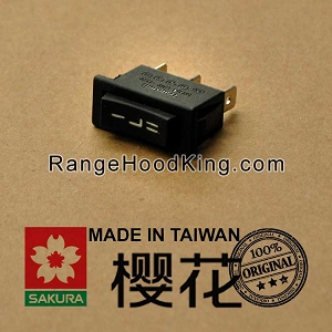 Sakura R-747 R-727 R-767 Motor Switch Black Left side
