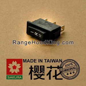 Sakura R-767 R-747 R-727 Motor Switch Black Right side