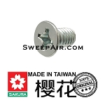 Sakura TL787 727 747 767 U2 U3 R-602 Bottom panel mounting  screw