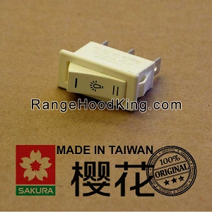 Sakura U2 U-2II R-747II R-767 Light Switch White Dual Motion