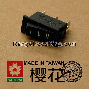 Sakura U2 U-2II R767 Left Motor Switch Black