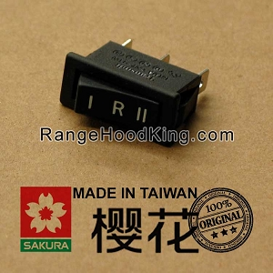 Sakura U2 U-2II R767 Right Motor Switch Black