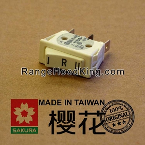 Sakura R-767 Right Motor Switch White