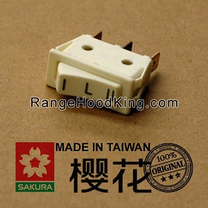 Sakura R-767 Left Motor Switch White