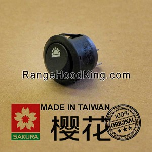 Sakura R-747II TL787 Light Switch Black