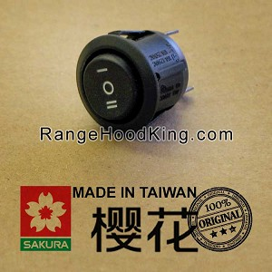 Sakura R-727II Motor Switch Black