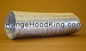 "7"" X 7 ft Flexible Aluminum Duct"