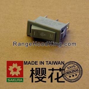 Sakura R-706 Light Switch Gray Dual motion