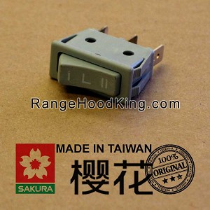 Sakura U2 U-2II R767 Left Motor Switch Gray